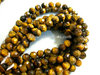 tiger eye 6mm faceted round beads