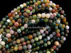 AGATE INDIAN 4MM ROUND BEADS