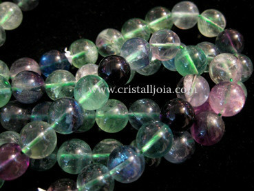 FLUORITE 12MM ROUNDS BEADS