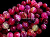 PINK BANDED AGATE 10MM ROUND BEADS
