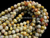 CRAZY LACE AGATE 6MM ROUND BEADS