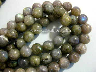 Labradorite 10mm Round Beads