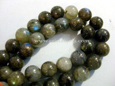 Labradorite 12mm Round Beads