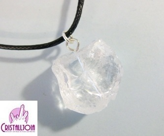 Quartz Crystal Rough Stone pendant
