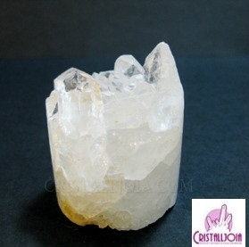 Quartz Crystal Druze Cylinder no.04