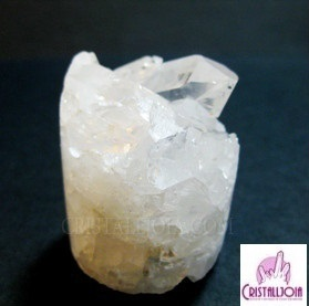 Quartz Crystal Druze Cylinder no.06