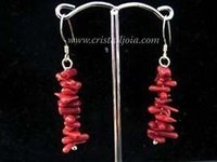 Hook Semiprecious Stone Chip Earring