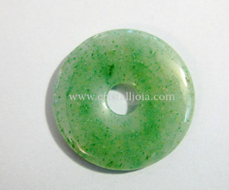 Green Aventurine Donut  Size 30Mm