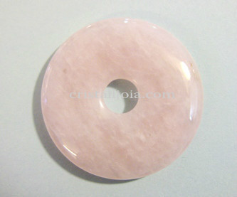Quars Rosa Donut  Mida 30Mm