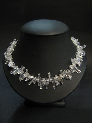 QUARTZ ROCK CRYSTAL - LONG NECKLACE HAWAII