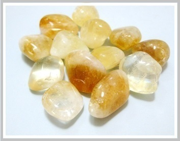 Citrine Thumbled Stone Pack Ref:Qcq1