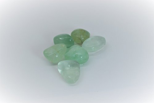 Tumbled Green Fluorite Package 200 gr. 1