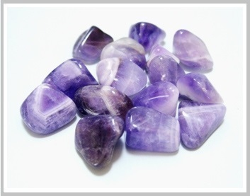 Amethyst Thumbled Stone Pack Ref:Qma1