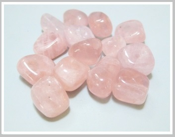 Rose Quartz Thumbled Stone Pack Ref:Qro1