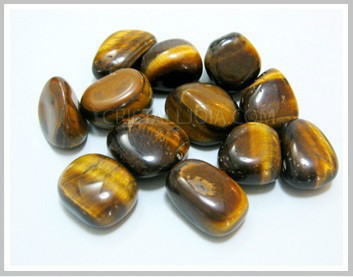 Tumbled Tiger Eye Packet 200gr