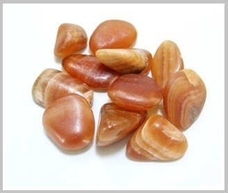 Brown Onyx Thumbled Stone 200 gr Packet