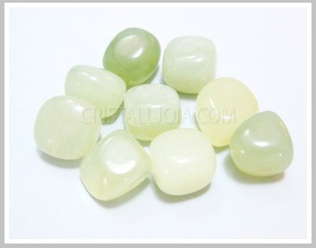 Light Jade Thumbled Stone Pack 200 gr