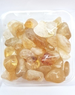 Citrine Mini Tumbled 3