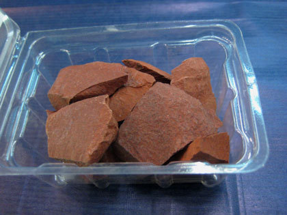 Red Jasper Raw Mineral Packet
