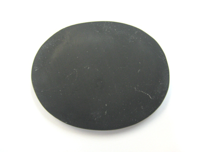 Large volcanic basalt thermotherapy medallion