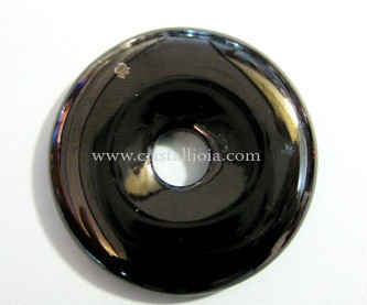 Shungit Gemstone Doughnut 40mm