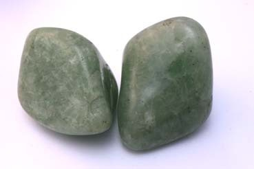 Tumbled Size 3 Clear Green Quartz