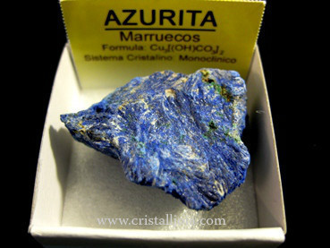 Azurite- Mineral Crystal Collection 4X4