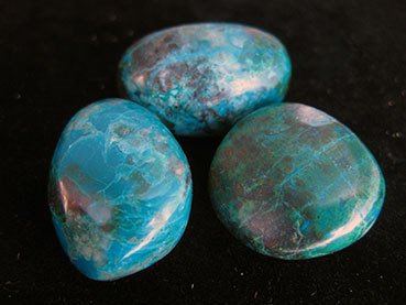 Tumbled 6e Chrysocolla