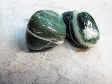 Tumbled 3e Green Sadonyx