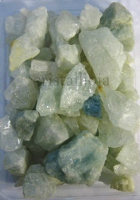 Aquamarine Raw Mineral Packet