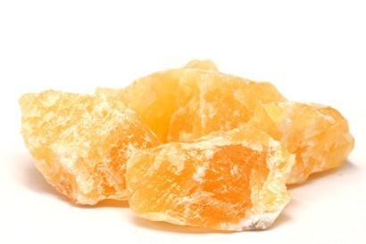 Yellow Calcite Raw Mineral Packet