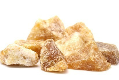 Honey Calcite Raw Mineral Packet