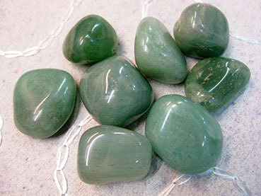 Tumbled 1e Green Aventurine