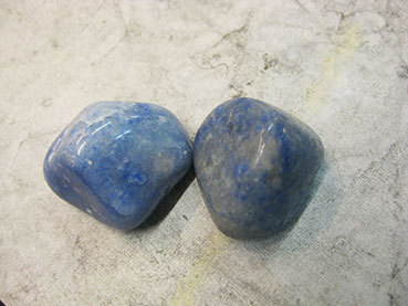 Tumbled 2e Blue Quartz
