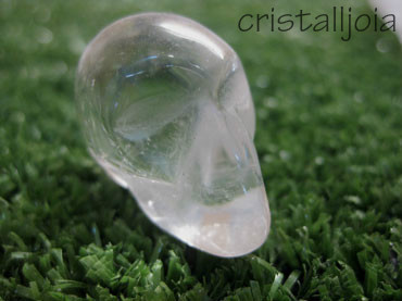 Quartz Rock Crystal - Skull Figure #1