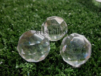 Quartz Rock Crystal - Faceted Ball #1