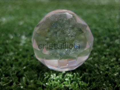 Quartz Rock Crystal - Faceted Ball #2