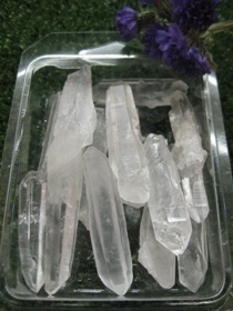 Natural Quartz Laser Point Pack (Extra Quality) 130 Gr.