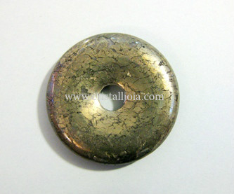 Pyrite Donut  Size 30Mm