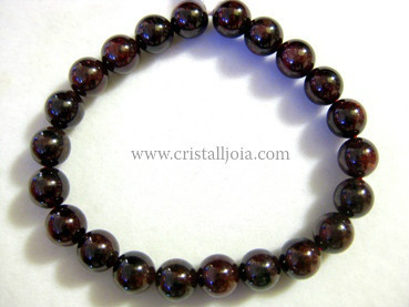 Pulsera Granate Bola 8mm