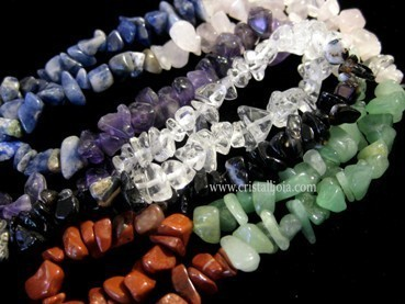 COLLAR CHIP LARGO DE CHAKRAS