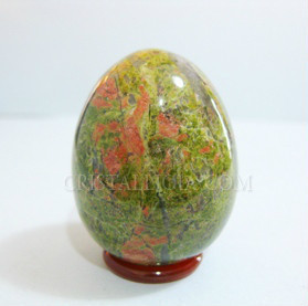 Unakite Crystal Egg