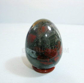 Bloodstone Crystal Egg