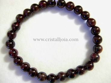 Pulsera Granate Bola 7mm