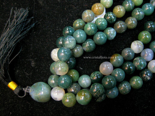 Mala of 108 Indian Agate Balls