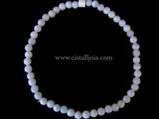 Pulsera Calcedonia Bola 4mm