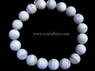 Pulsera Calcedonia Bola 10mm