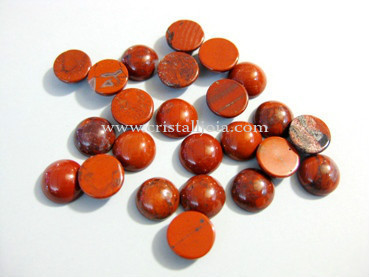 Red Jasper Cabochon 8Mm