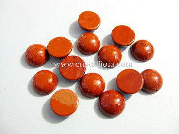 Red Jasper Cabochon 10Mm