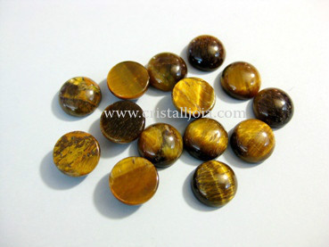 Tigers Eye Cabochon 10Mm